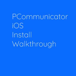 iOS WALKTHROUGH