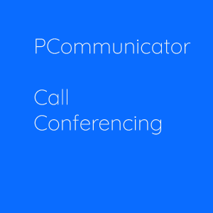 PCOMMUNICATOR CALL CONFERENCING